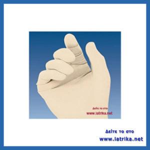 γάντια χειρουργικά αποστειρωμένα