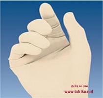 Χειρουργικά αποστειρωμένα γάντια