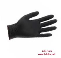 Εξεταστικά γάντια LATEX χωρίς πούδρα μαύρα - iatrika.net 249172a00d0