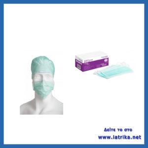 Μάσκες χειρουργείου με κορδόνι (δετές)