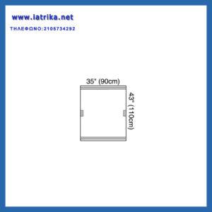 Οθόνια καλύμματα ιατρικών μηχανημάτων streri drape 3Μ (1012)